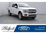 2018 White Platinum Ford F150 Platinum SuperCrew 4x4 #124962873
