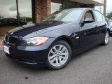 2007 Monaco Blue Metallic BMW 3 Series 328i Sedan #12448475