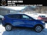 2018 Lightning Blue Ford Escape Titanium 4WD #124962789