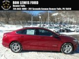 2018 Ruby Red Ford Fusion Hybrid SE #124962787