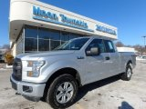2015 Ingot Silver Metallic Ford F150 XL SuperCab 4x4 #124962852