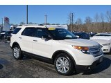 2013 Oxford White Ford Explorer XLT 4WD #124962812