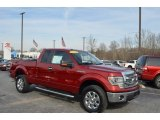 2014 Ruby Red Ford F150 XLT SuperCab 4x4 #124962811