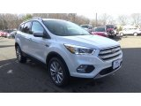 2018 White Platinum Ford Escape Titanium 4WD #124983631