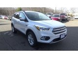 2018 White Platinum Ford Escape SEL 4WD #124983630