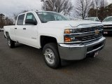 2018 Chevrolet Silverado 2500HD Work Truck Crew Cab Data, Info and Specs