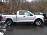2018 Ingot Silver Ford F150 XL SuperCab 4x4 #125001402