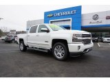 2018 Iridescent Pearl Tricoat Chevrolet Silverado 1500 High Country Crew Cab 4x4 #125001442