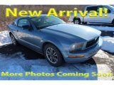 2005 Black Ford Mustang V6 Deluxe Coupe #125001482