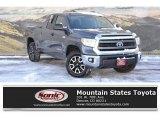 2015 Magnetic Gray Metallic Toyota Tundra SR5 Double Cab 4x4 #125026863