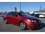 2015 Ruby Flare Pearl Toyota Camry SE #125026935