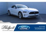 2018 Oxford White Ford Mustang EcoBoost Fastback #125026966