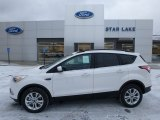 2018 White Platinum Ford Escape SE 4WD #125045706