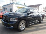 2012 Black Dodge Ram 1500 Sport Crew Cab 4x4 #125045575