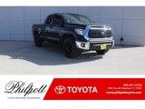 2018 Midnight Black Metallic Toyota Tundra SR5 Double Cab #125045560