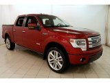 2013 Ruby Red Metallic Ford F150 Limited SuperCrew 4x4 #125045632