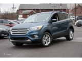 2018 Blue Metallic Ford Escape SE 4WD #125124513
