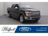 2018 Magma Red Ford F150 Lariat SuperCrew 4x4 #125136942