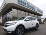 2018 White Diamond Pearl Honda CR-V Touring AWD #125136937
