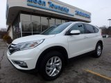 2015 White Diamond Pearl Honda CR-V EX #125140228