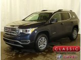 2018 Blue Steel Metallic GMC Acadia SLE AWD #125140290