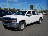 2016 Summit White Chevrolet Silverado 1500 LT Crew Cab 4x4 #125156438