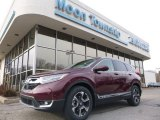 2018 Basque Red Pearl II Honda CR-V Touring AWD #125156375