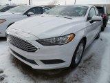 2018 Oxford White Ford Fusion SE #125172197