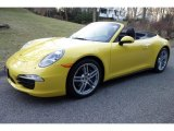 2013 Porsche 911 Racing Yellow