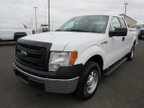 2014 Oxford White Ford F150 XL SuperCab #125201149