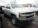 2018 Chevrolet Silverado 1500 WT Regular Cab 4x4 Front 3/4 View
