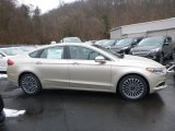 2018 White Gold Ford Fusion SE #125201036