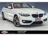 2018 Alpine White BMW 2 Series 230i Convertible #125201088