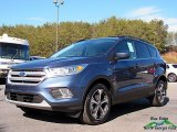 2018 Blue Metallic Ford Escape SEL #125200850