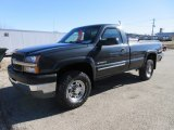 2003 Dark Gray Metallic Chevrolet Silverado 2500HD LS Regular Cab 4x4 #125229076