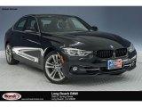 2018 Jet Black BMW 3 Series 330i Sedan #125229006