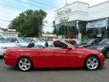 2007 Crimson Red BMW 3 Series 328i Convertible #12506016