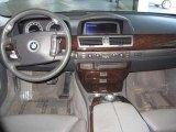 2003 Titanium Silver Metallic BMW 7 Series 745Li Sedan #12522203