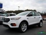 2018 Oxford White Ford Escape S #125228818