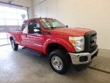 2012 Vermillion Red Ford F250 Super Duty XL SuperCab 4x4 #125200999