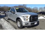 2015 Ingot Silver Metallic Ford F150 XL SuperCab 4x4 #125246571