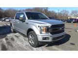 2018 Ingot Silver Ford F150 XL SuperCrew 4x4 #125246568