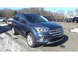 2018 Blue Metallic Ford Escape SEL 4WD #125246566