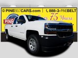 2018 Summit White Chevrolet Silverado 1500 WT Double Cab 4x4 #125268149