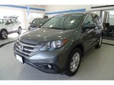 2014 Polished Metal Metallic Honda CR-V EX-L AWD #125268217