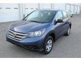 2014 Twilight Blue Metallic Honda CR-V LX AWD #125268233