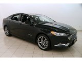 2017 Shadow Black Ford Fusion Hybrid SE #125268214