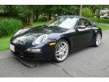 2008 Midnight Blue Metallic Porsche 911 Carrera 4 Cabriolet #12505634