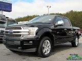 2018 Shadow Black Ford F150 Platinum SuperCrew 4x4 #125276868