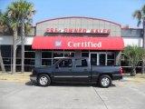 2005 Dark Gray Metallic Chevrolet Silverado 1500 LS Crew Cab #12507486